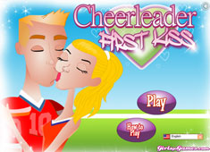 Cheerleader First Kiss game