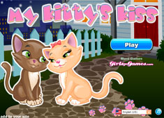My Kittys Kiss game